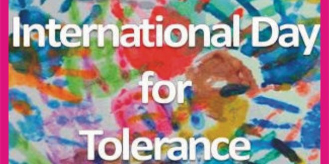 International Day for Tolerance 2020