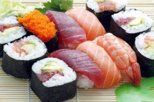 tuna fish dish sushi