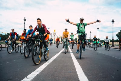 world bicycle day rally