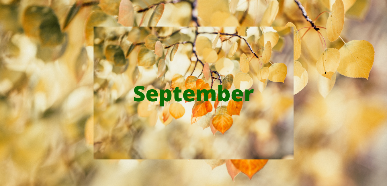 September Holidays 2021
